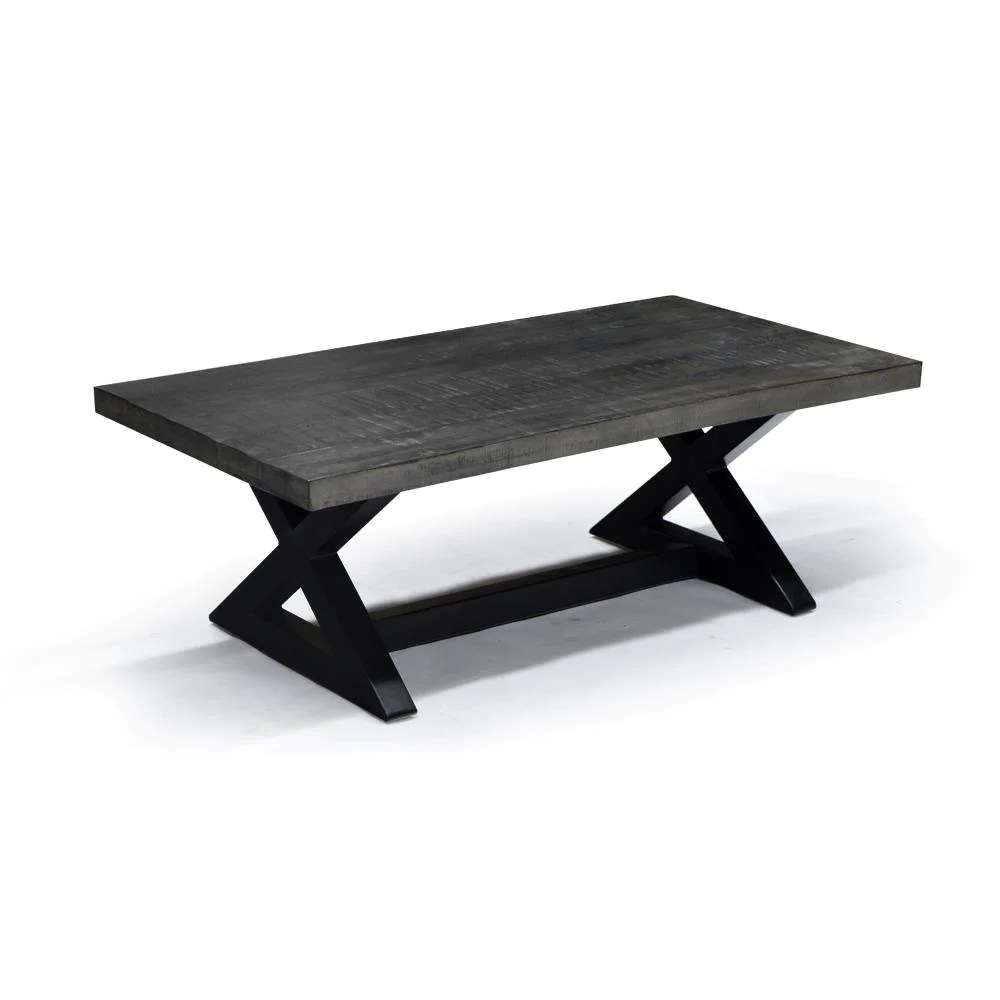 rustic modern styling coffee table zax