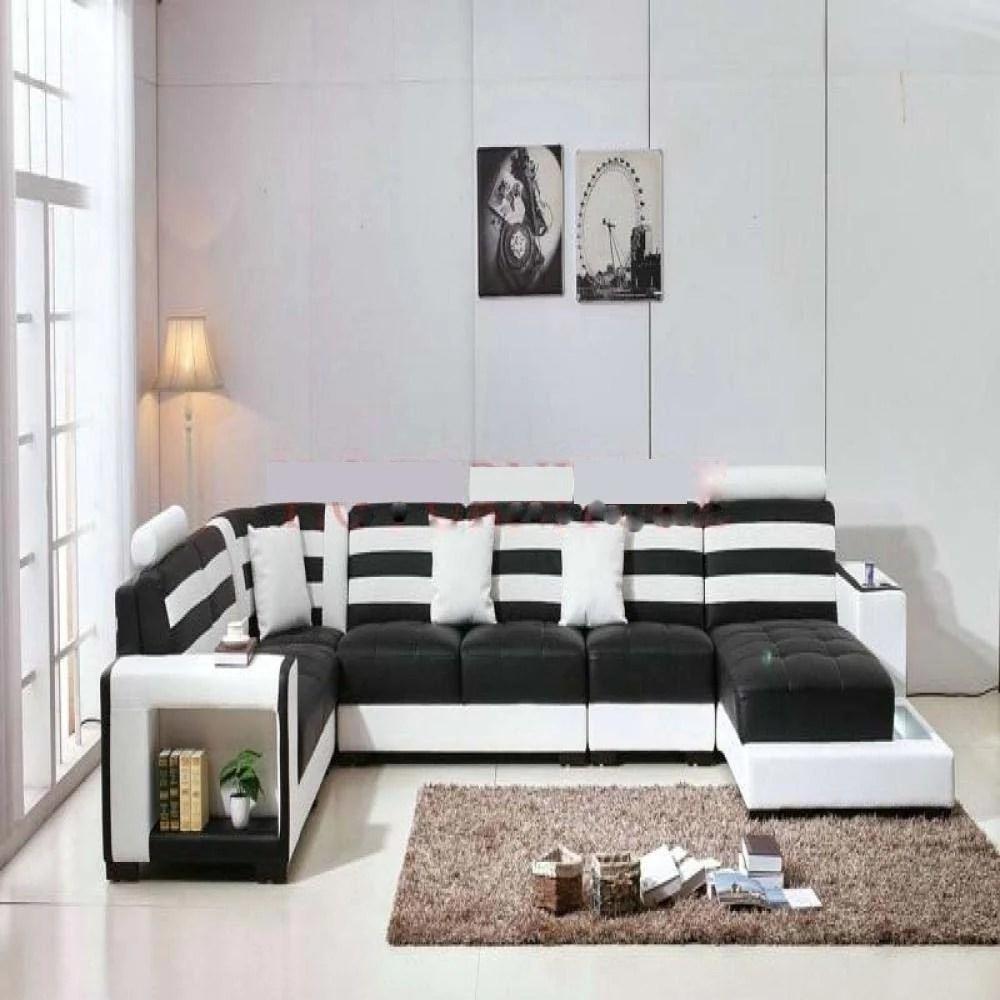stylish luxury sectional leather sofa