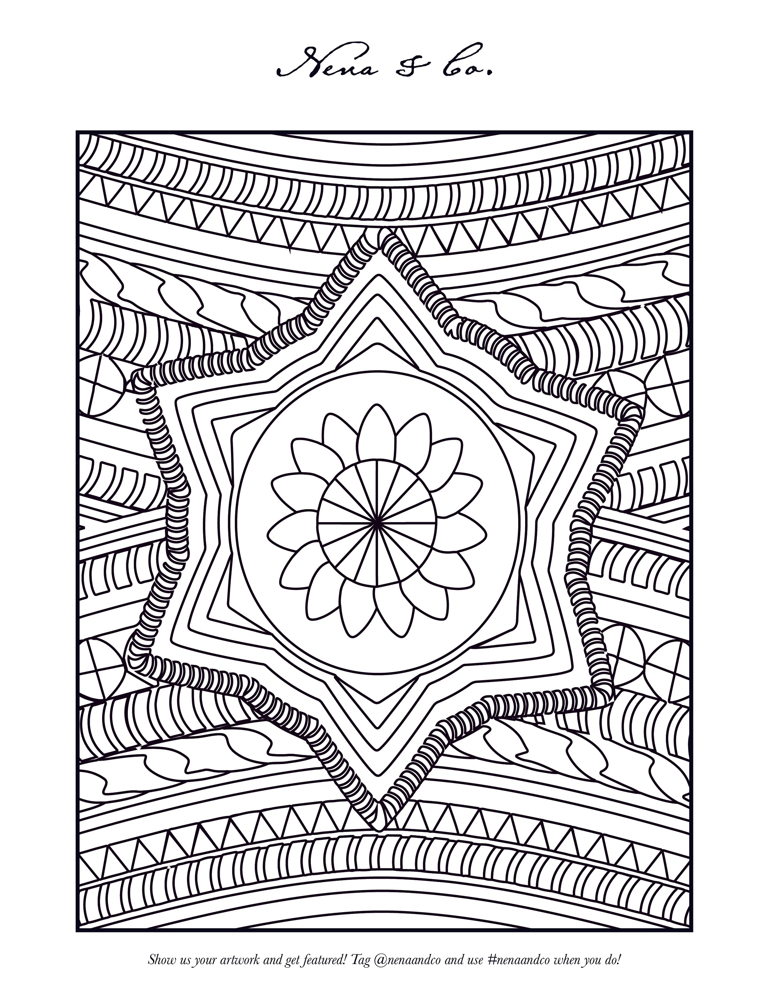 Nena Coloring Pages