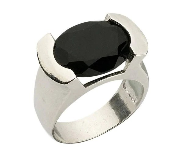 kabbalah illuminati, black tourmaline silver rings, rings ...