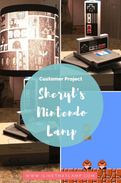 Customer Project Sheryl S Diy Nintendo Lamp I Like That