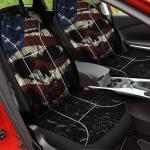 Shredded Skull Car Seat Cover American Legend Rider