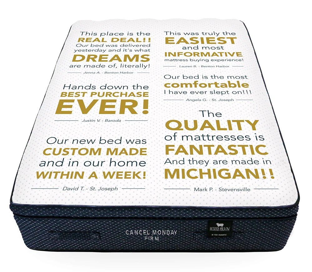 rested pillow mattress company
