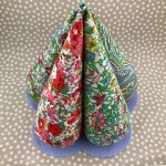 Diy Fabric Puffy Tabletop Christmas Trees Tutorial Pdf Sewing Patter La Todera