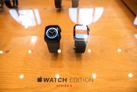 Depositphotos stock photo new apple watch series
