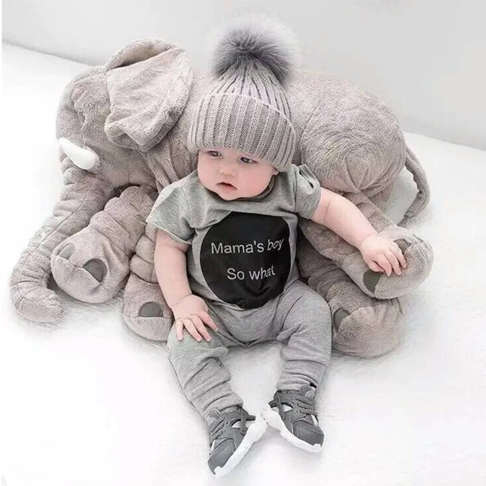 giant elephant baby pillow cheaper than
