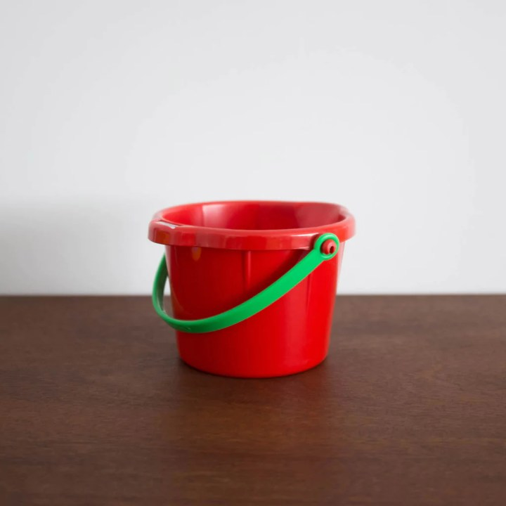 ethically made sand bucket made in Germany