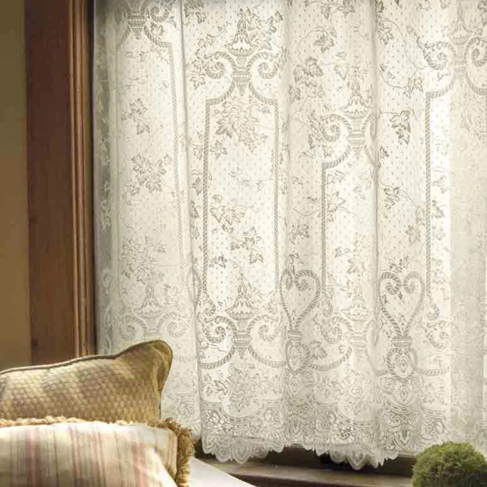 English Ivy Lace Panel And Valance Heritage Lace