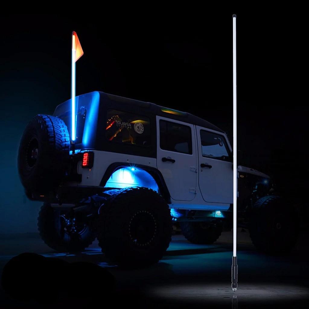 Led Light Pole Atv