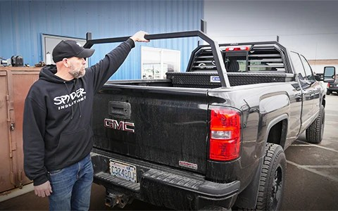 spyder industries lifted truck