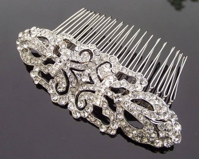 wedding hair combs - jules bridal jewellery