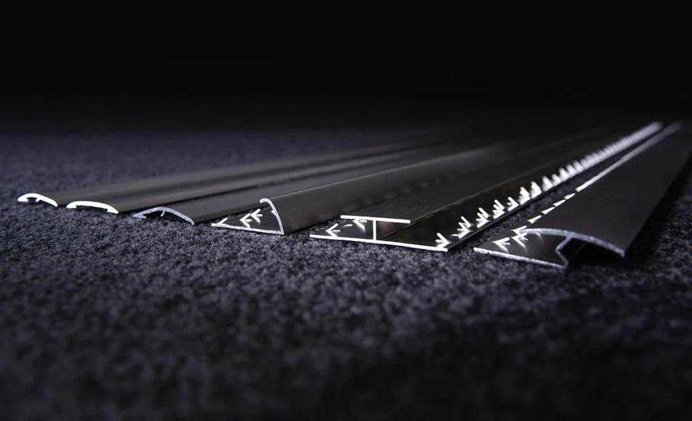 metal carpet door bars trims and