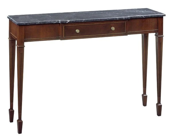 marble top console table foc 13