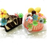 360 Pieces Mixed Edible Flower For Cake Or Baking Decoration