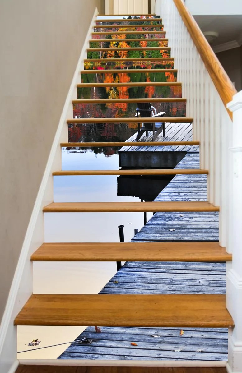 Full Stair Riser Decals Riserart