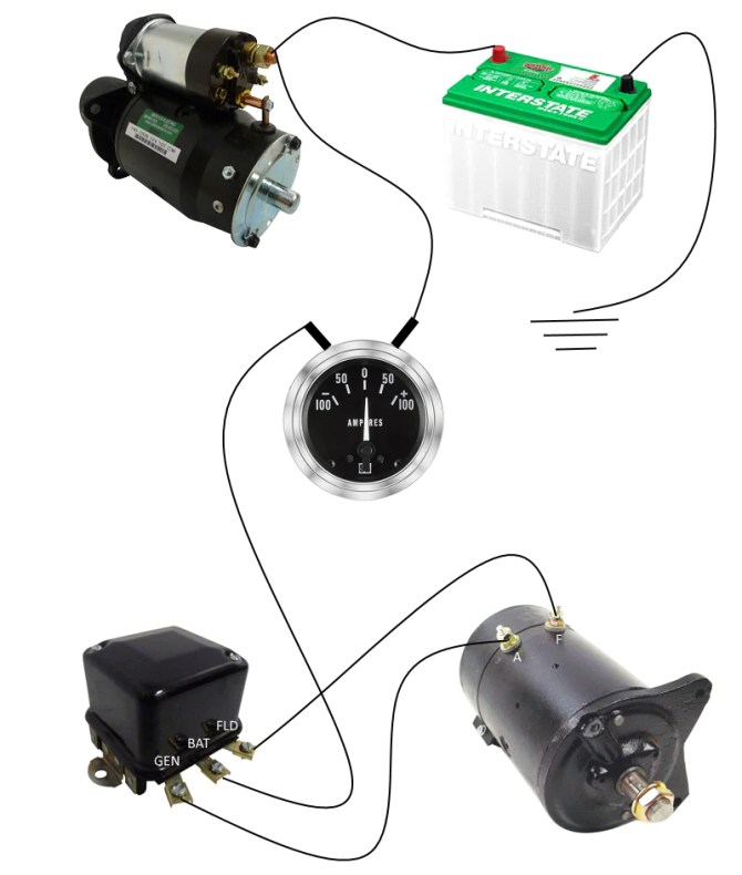 generator to alternator conversion wiring  smith co electric