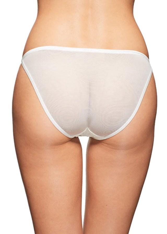 Pearly Eye Bikini White Panties Underwear By Wings Intimates