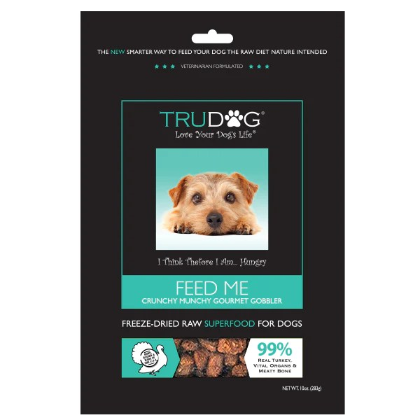 TruDog Feed Me Turkey 14oz pin