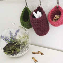 Pattern Tiny Crochet Baskets