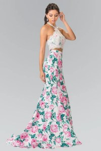 2019 Prom Dresses  Quinceanera Dresses  Evening Gowns Cheap 2 piece floral Mermaid prom dress   GL2259   Simply Fab Dress