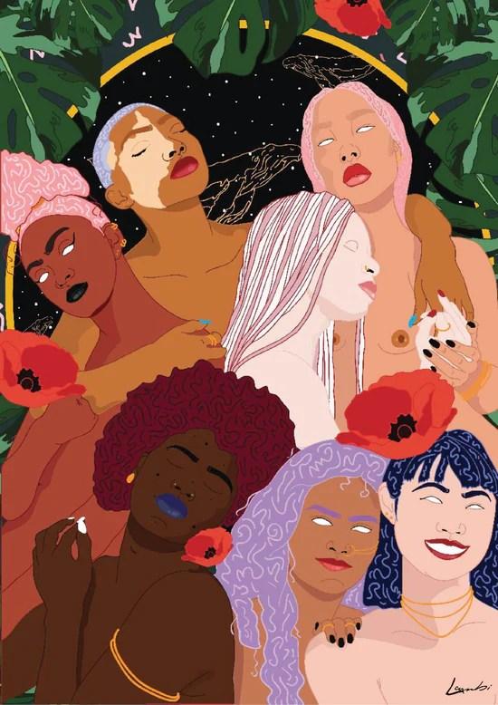 """Heritage of Queendom - Int'l Women's Day - 8.5"""" x 11"""" Print"""