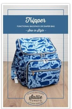 Tripper Travel Tote Pattern