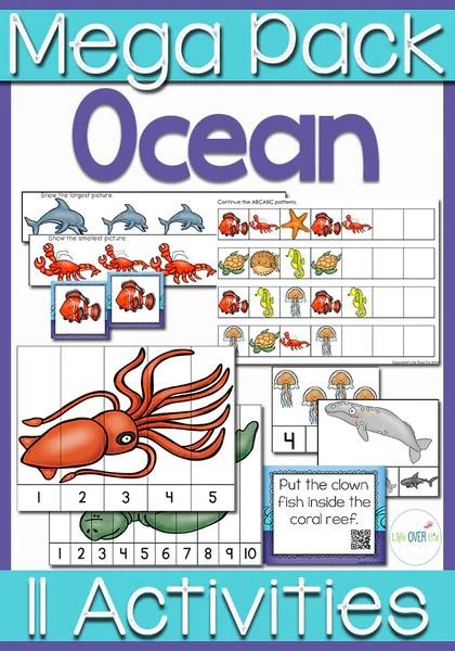 Ocean Interactive Math Mega Pack Pre-K