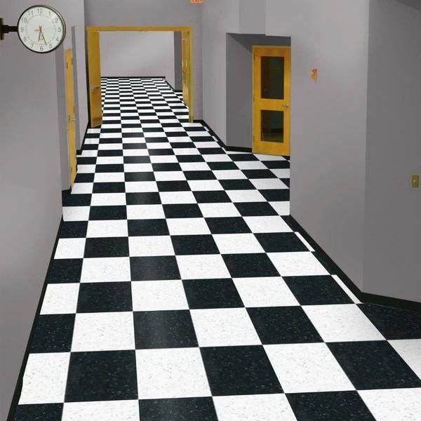 armstrong classic white 51911 standard excelon imperial texture vct floor tile 12 x 12 45 sq ft box