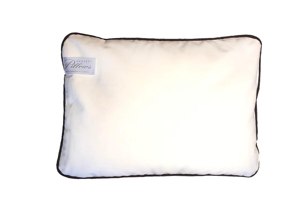 buckwheat hull travel pillow
