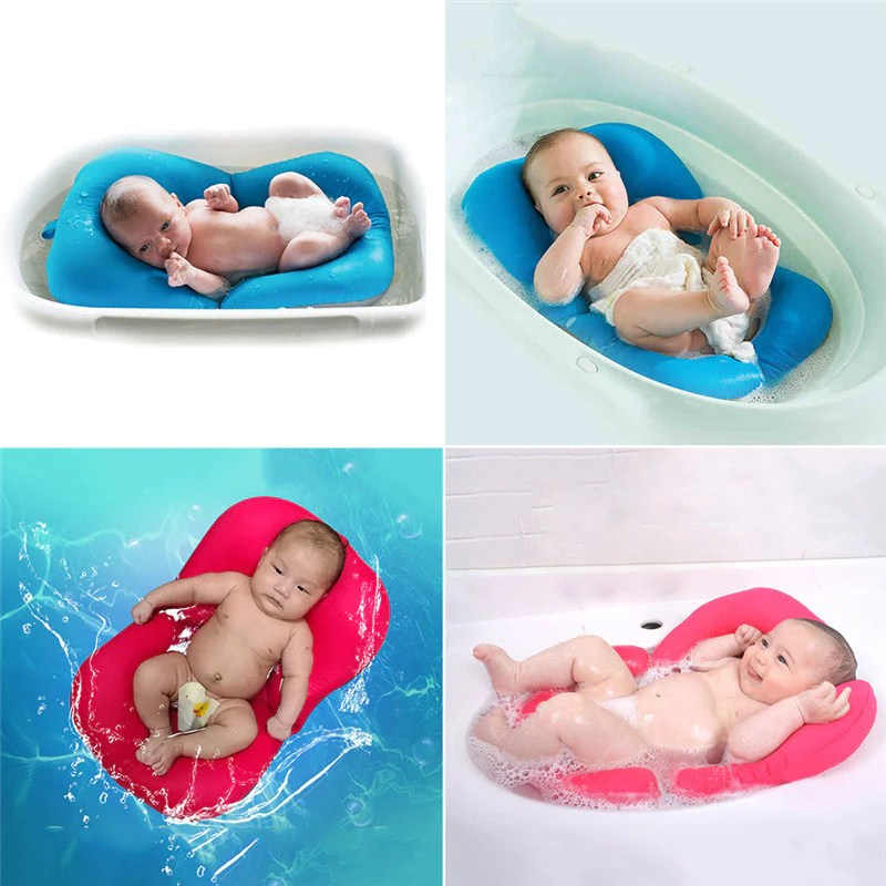 BabyBathie The Relaxing Baby Bathtub Pillow Boho Baby
