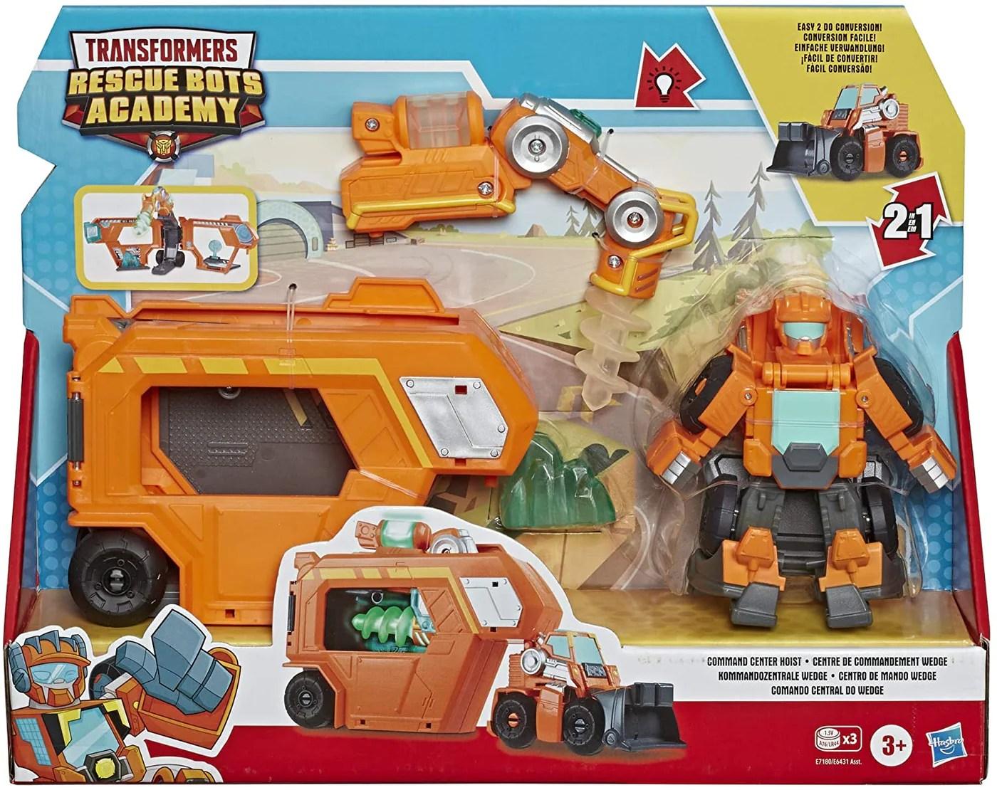 Transformers Rescue Bots Trailer Orange G I T D Toys