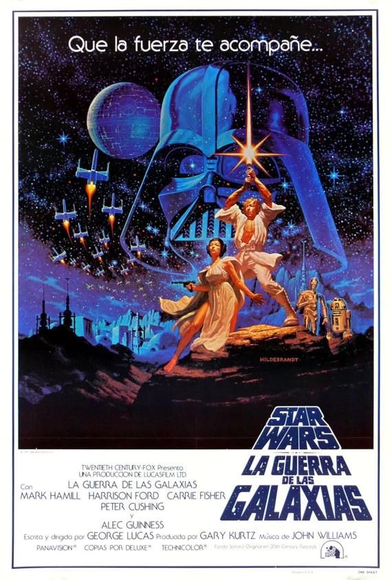 star wars poster star wars movie poster spanish new hope poster movie poster poster reprint