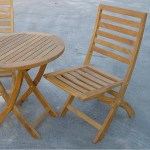 Anderson Teak 27 Folding Table 2 Chairs Bistro Set Teakwood Central