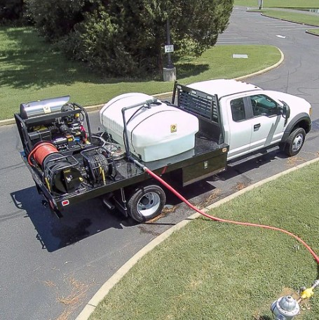 Truck Mounted Pressure Washing System – Cougar Chemical