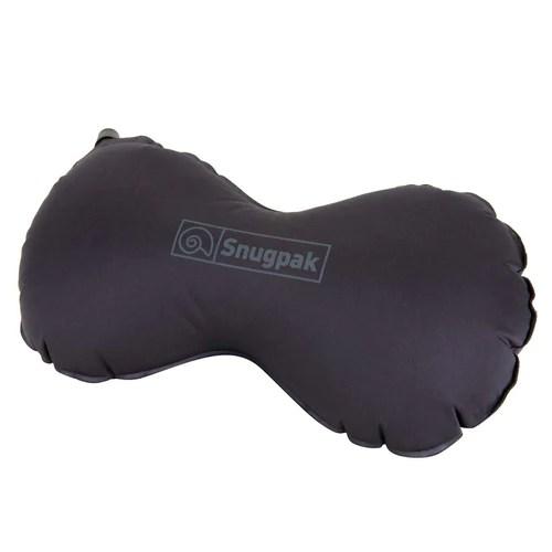 snugpak inflatable butterfly pillow black