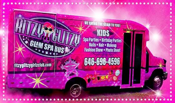 Nyc 1 Kids Birthday Party Bus Queens Brooklyn Bronx Long Island Nj Ritzy Glitzy Girlz Club