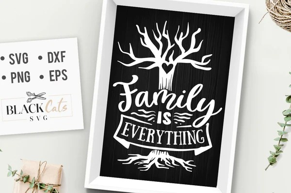 Download Family is everything SVG file Cutting File Clipart in Svg ...