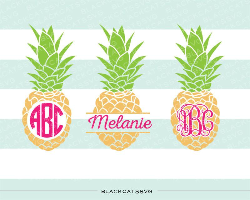 Download Pineapples SVG file Cutting File Clipart in Svg, Eps, Dxf ...