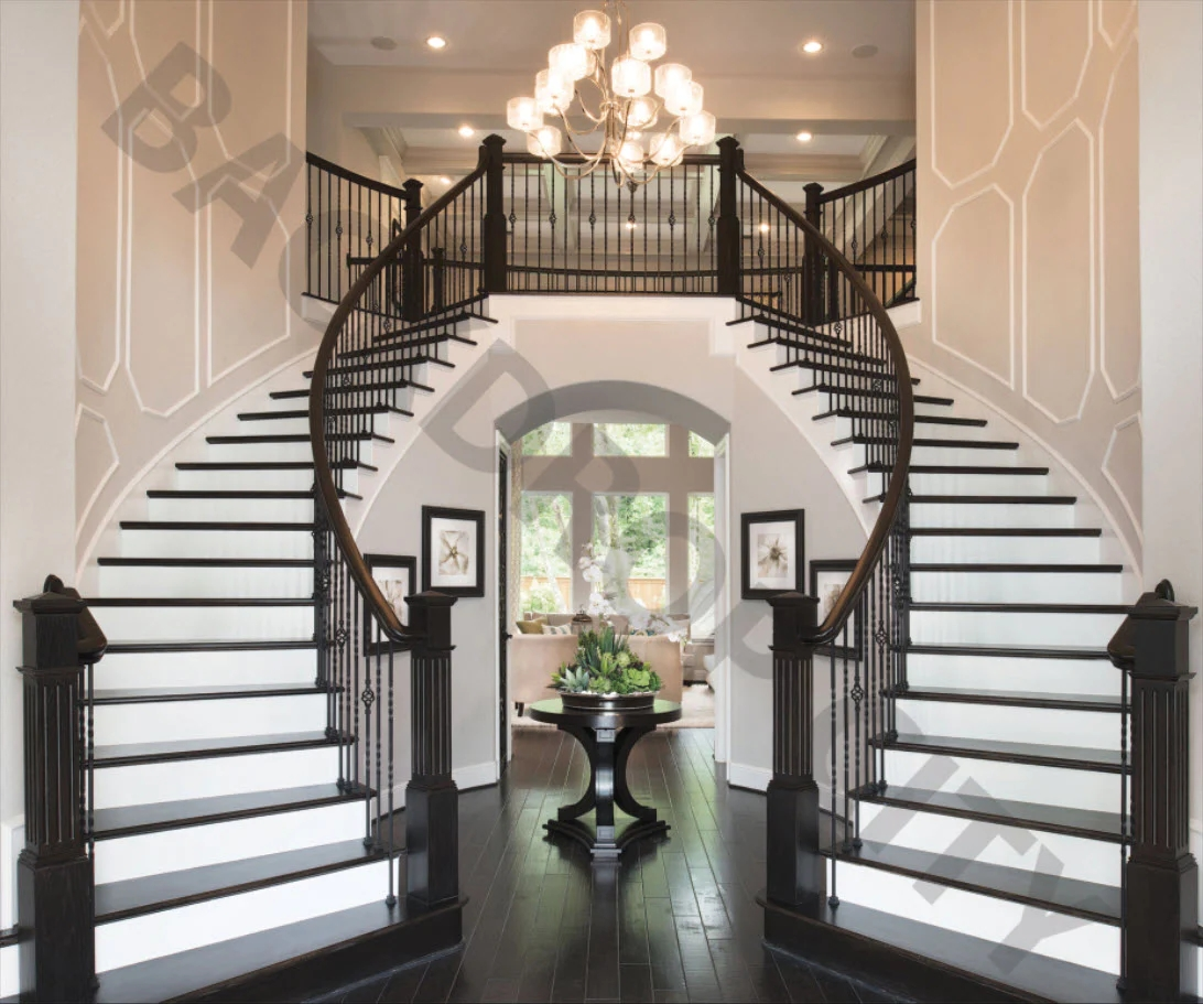 Black And White Stair Backdrop – Backdrop City   Black And White Stairs Design   Farmhouse   Photography   Concept   Disappearing   Grey Background
