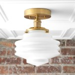 Ceiling Light Model No 8295 Peared Creation