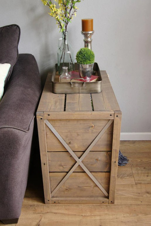 2 53c0ee6c 6967 4959 96dc 1ac522d7b788 1024x1024 - Farmhouse Crate End Table