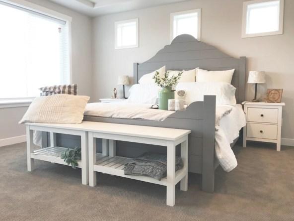 Shiplap bed 1024x1024 - DIY Shiplap Bed Frame