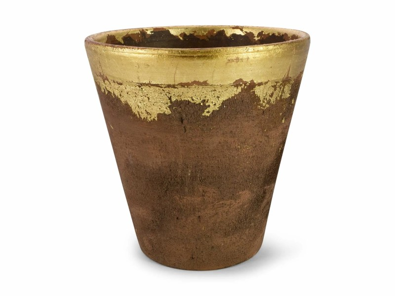 Buy Modern Pots For Plants   Affordable Decorative Planters Online     Piece   Parcel   Lagos Gold Pot
