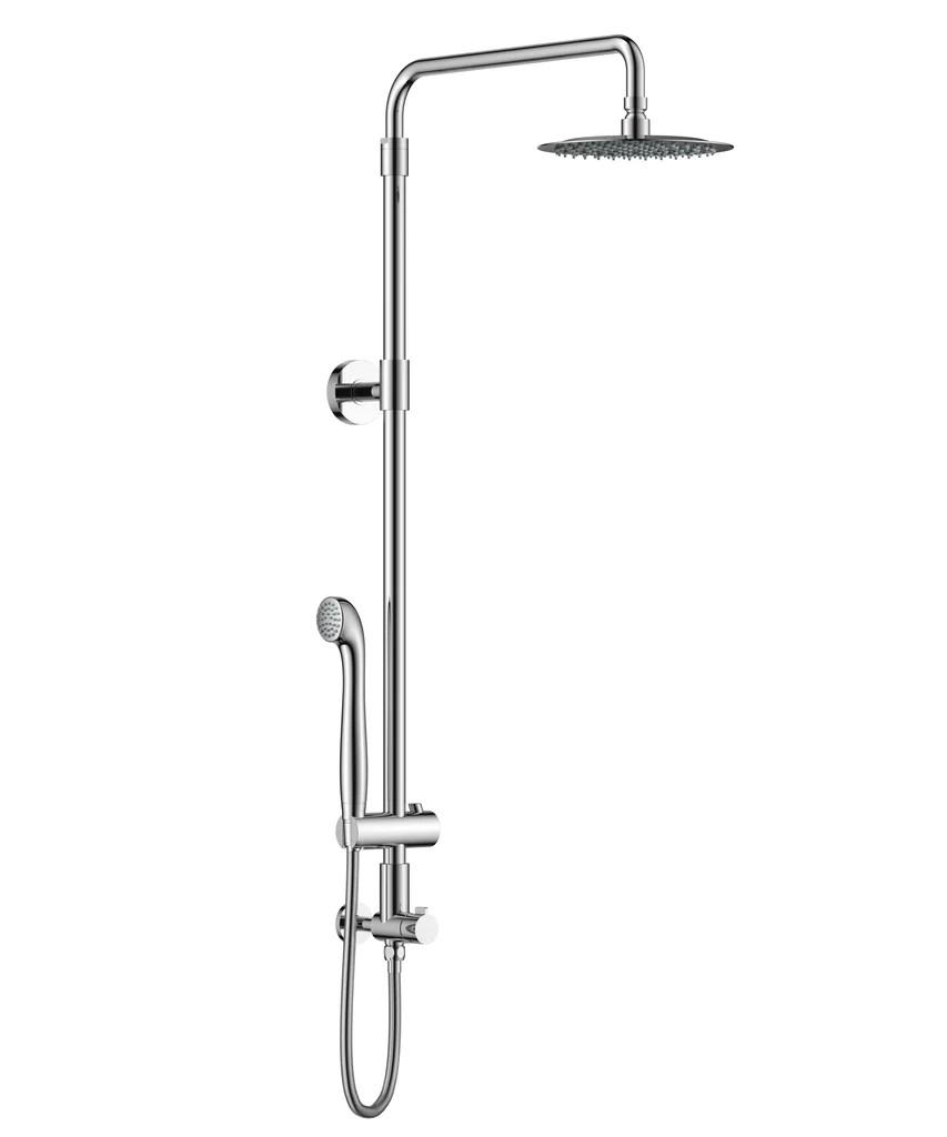 Aurea Retrofit Rain Shower Set With Adjustable Height Shower Head Handheld Shower