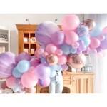 Unicorn Wishes Balloon Garland Palm Pine