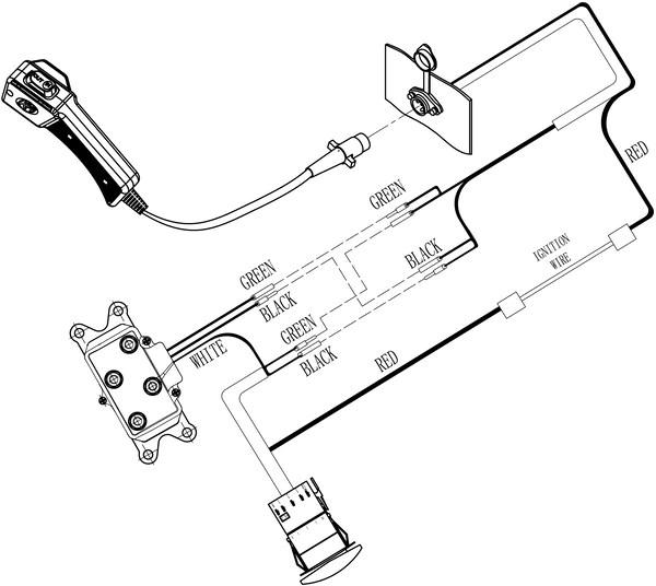 Replacement KFI Winch Contactor – Custom Splice
