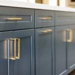 Satin Brass Trane Drawer Pulls And Knob Forge Hardware Studio
