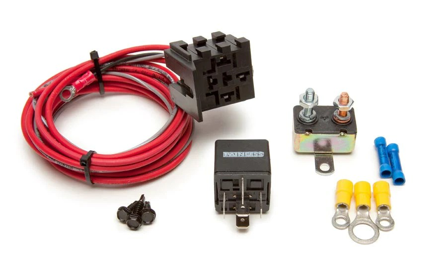 30101  FanThom Electric Fan Relay Kit – Painless Performance