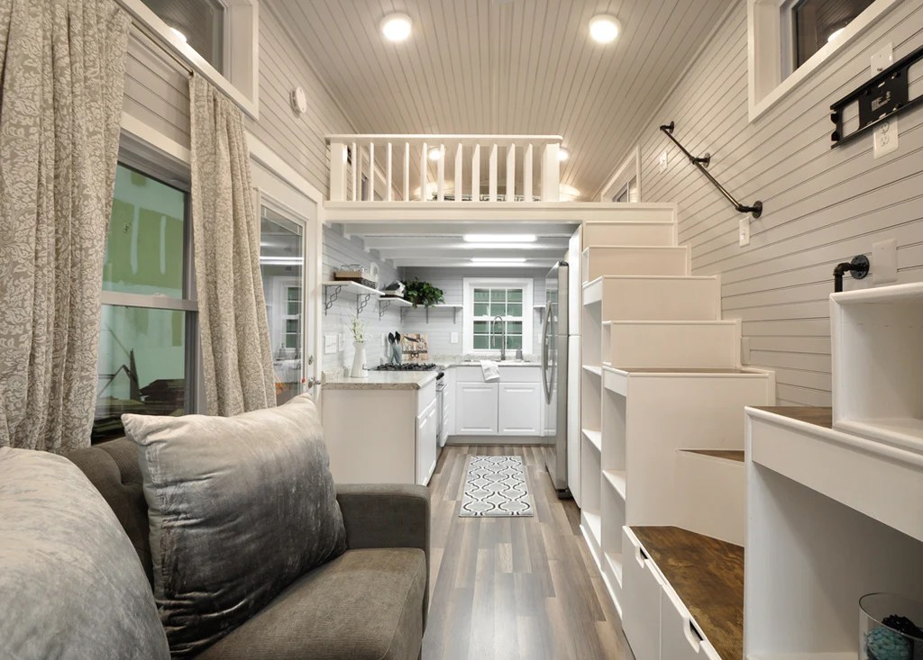 The Elegant Kate Tiny Home On Wheels By Tiny House Building Co Dream Big Live Tiny Co