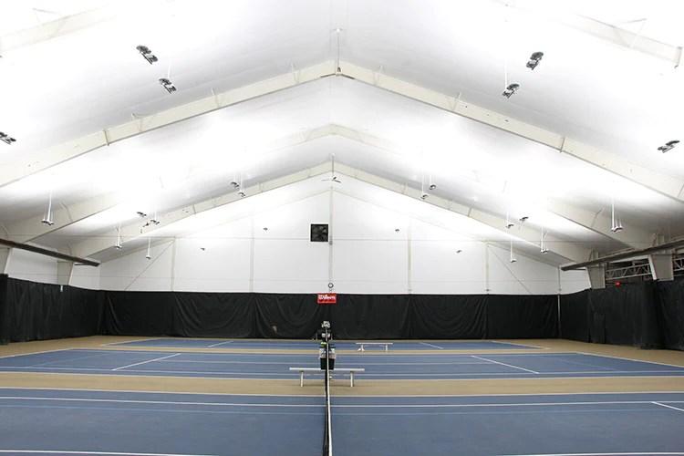 led tennis court lighting designed